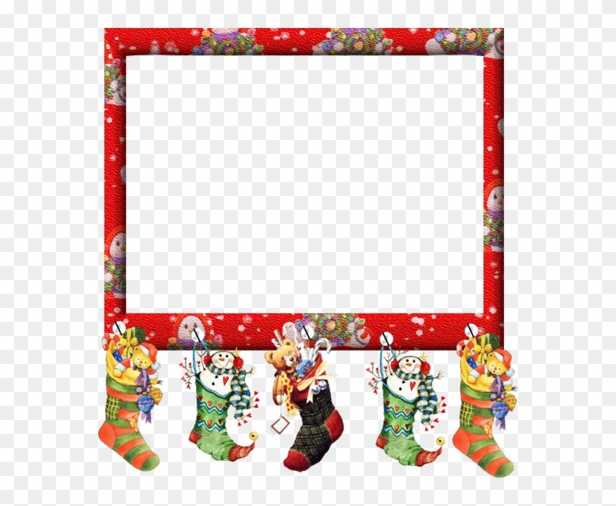 Tube Image Noel.Cadre De Noel En Tube Clipart Santa Claus Christmas