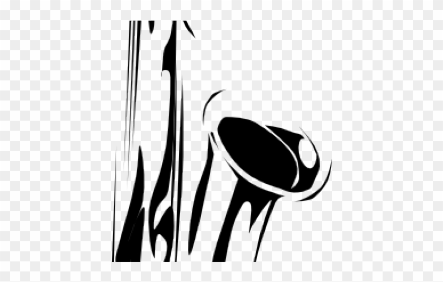 823de7521 Saxophone Clipart Vector - Tribal Saxophone Tattoo - Png Download ...