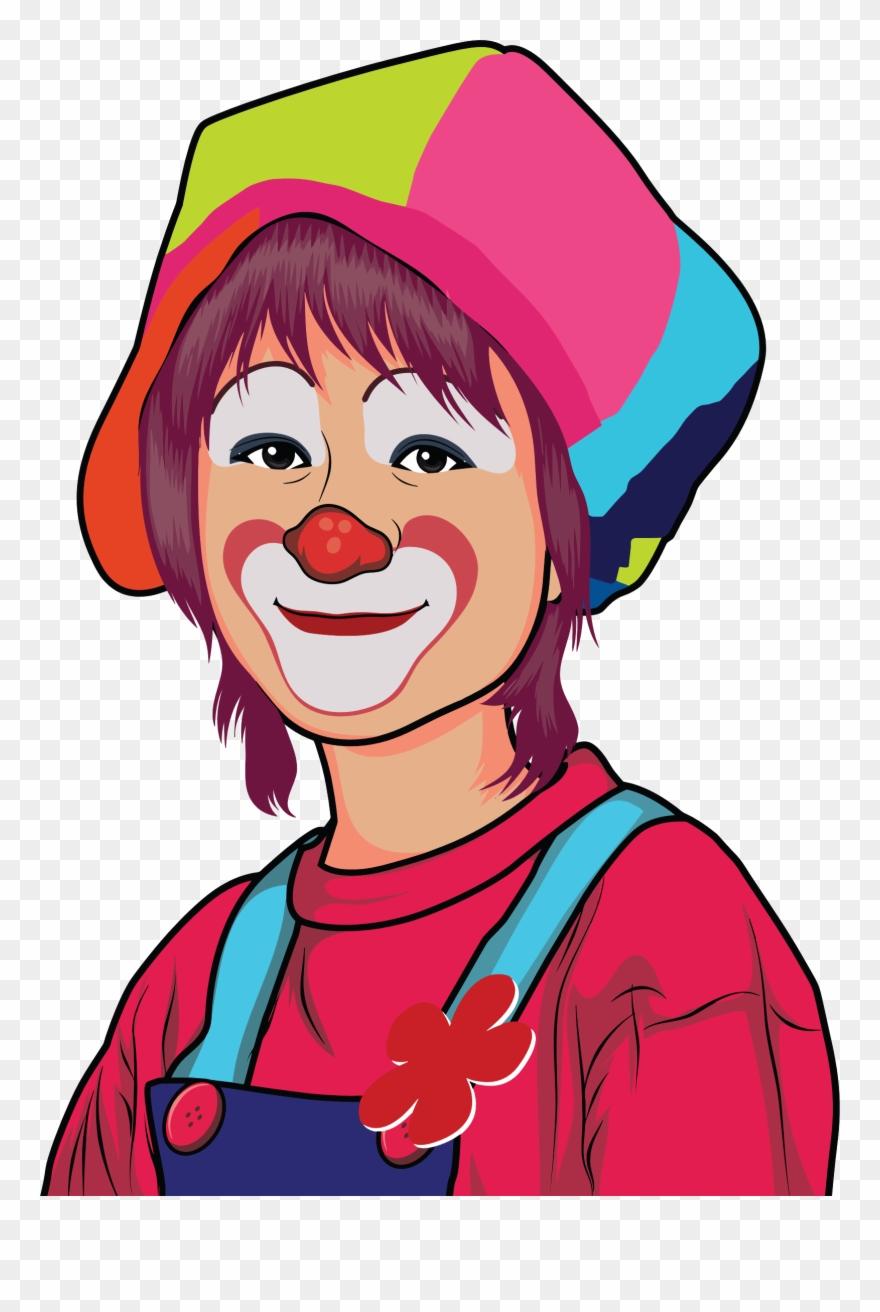 Joker Clown Cartoon Drawing Humour Clown Face Clipart Png