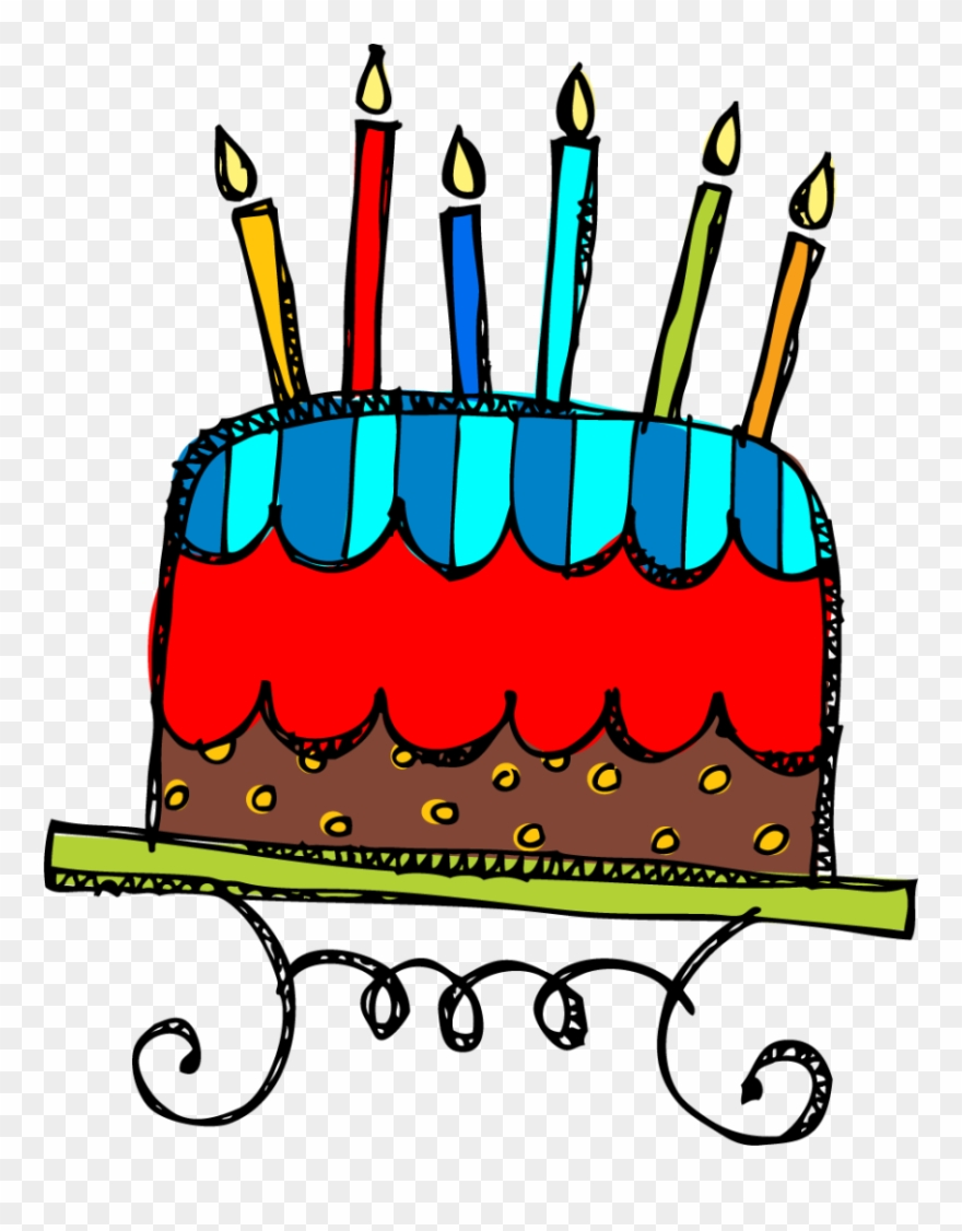 Birthday Cake And Clipart Clip Art