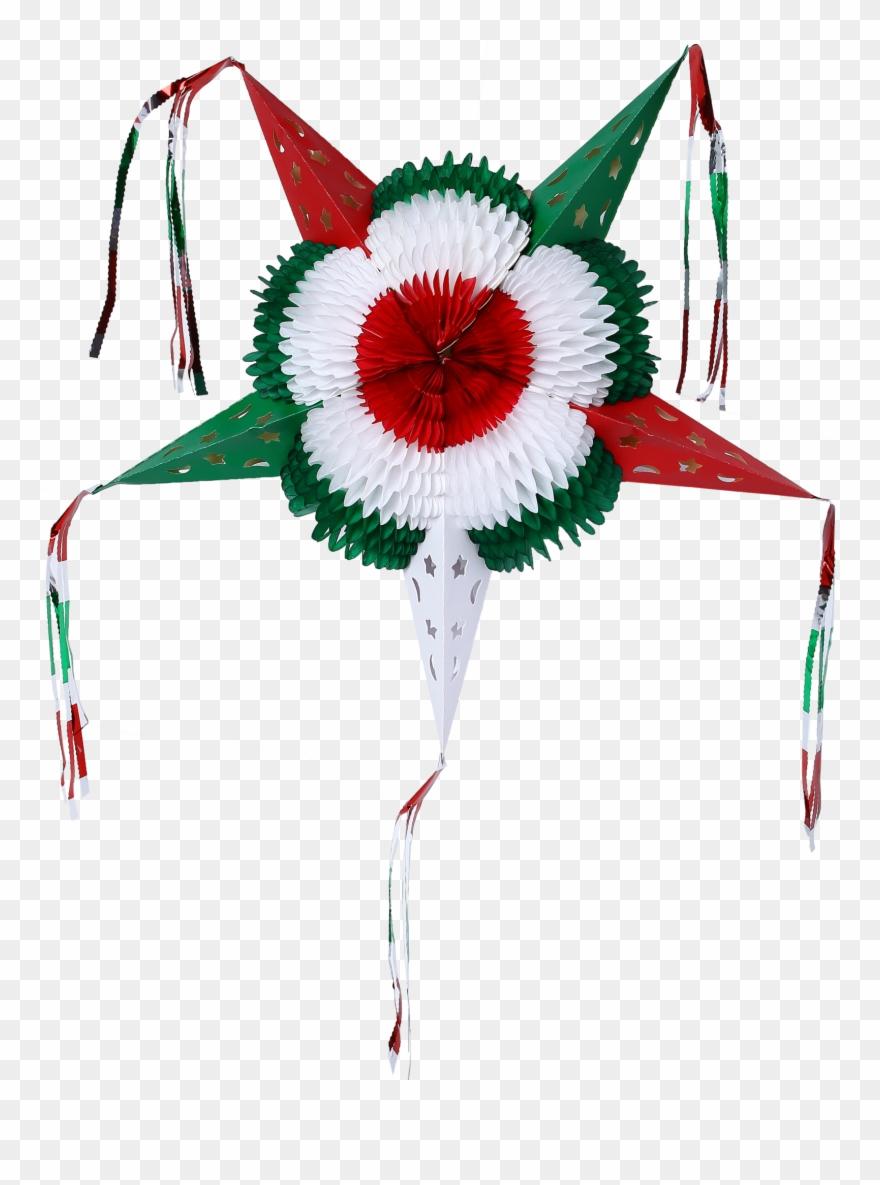 Colorful Star Mexican Piñata Foldable Cardboard Party ...Star Pinata Clipart