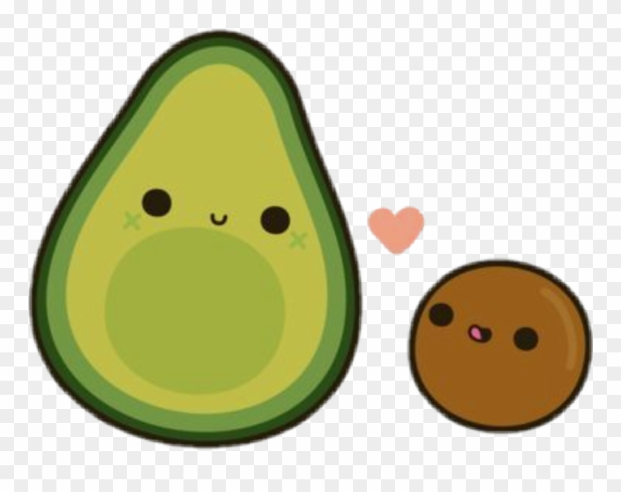 Cartoon Pictures Of Avocado