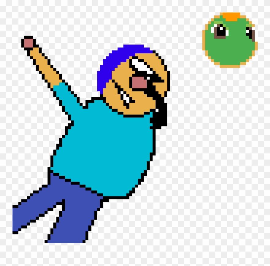 Dab Pixel Art Clipart 3212420 Pinclipart