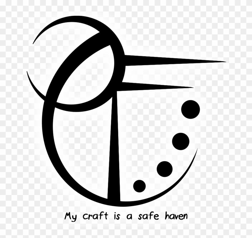 Haven Clipart Safe Haven - Protection Sigil For Grimoire - Png