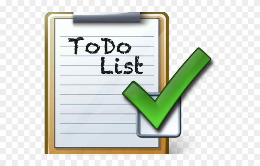 Image result for to do list clipart
