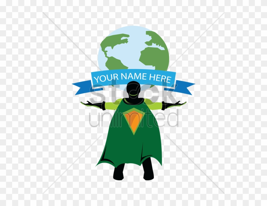 Earth Clipart Superhero Superhero Saving Earth Png Download