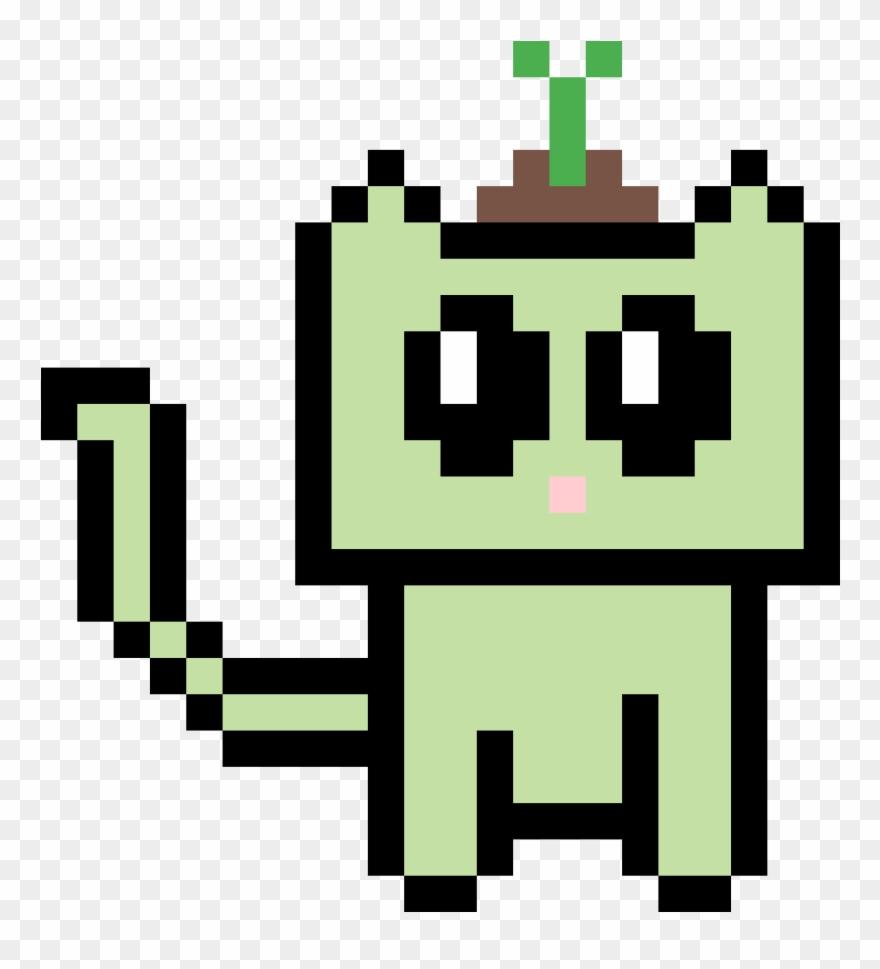 Kitten Adopts Pokemon Pixel Art Pikachu Clipart 3224758