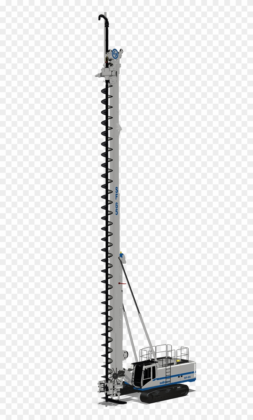 Drilling Rig Silhouette At Getdrawings - Crane Clipart