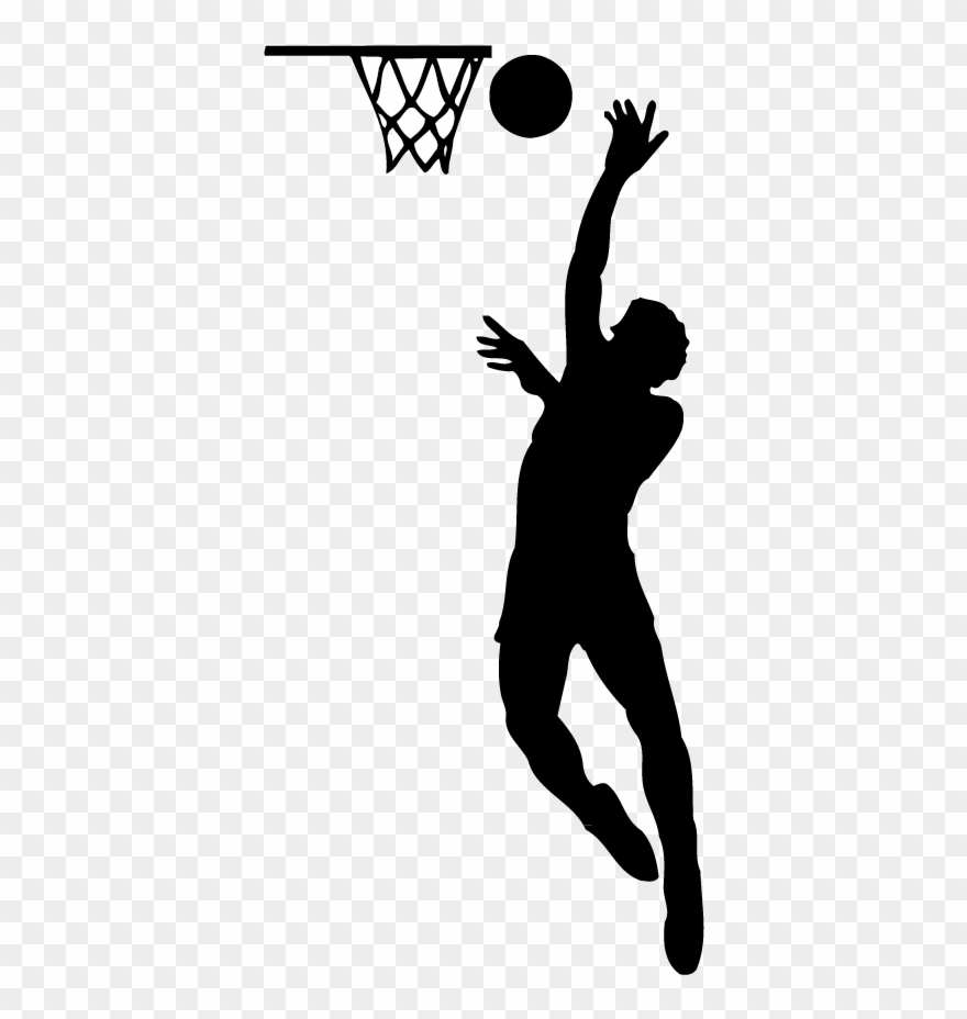 first rate 2b9fc 7ceb5 Michael Jordan Clip Art Freeuse Stock Src - Basketball Player Silhouette Png  Transparent Png