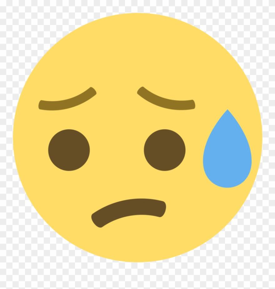 Sad Face Emoji - Sad Smiley For Dp Clipart (#3253431