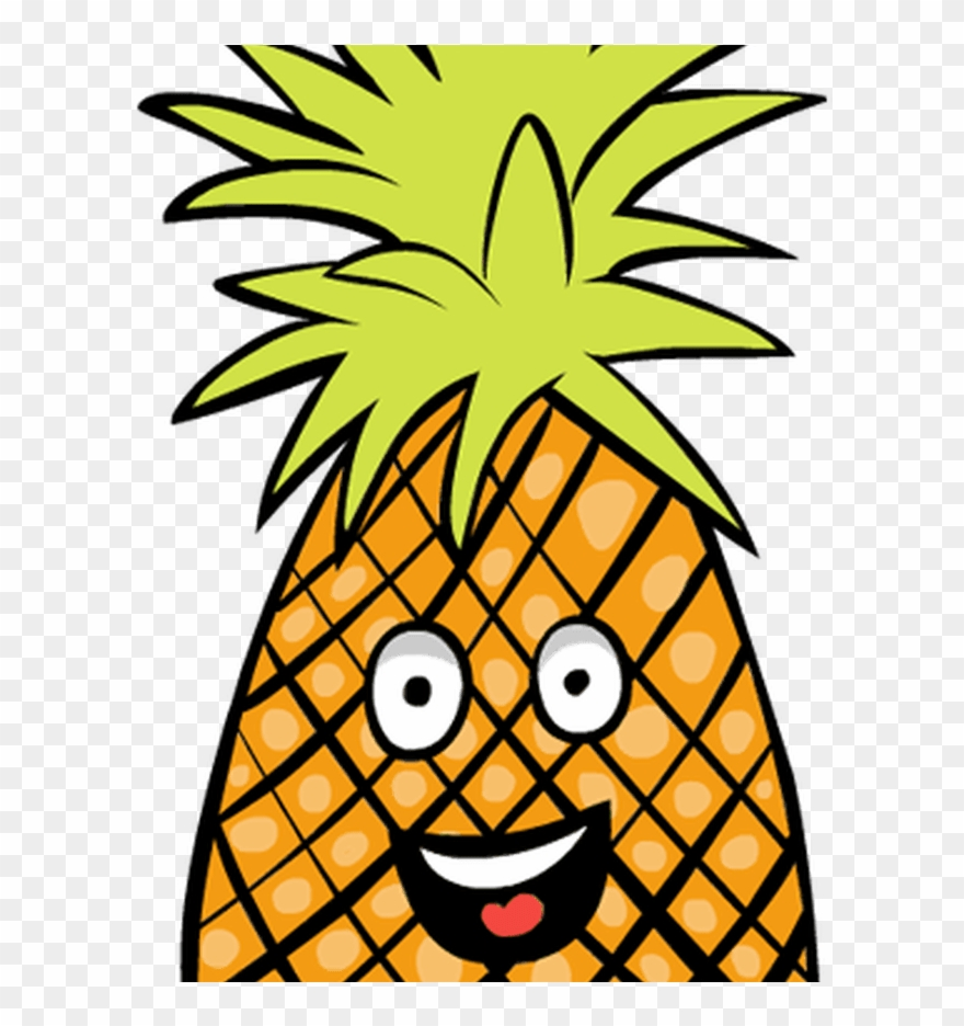 Clipart Pineapple Pineapple Fruit Clip Art - Cartoon Fruit ...