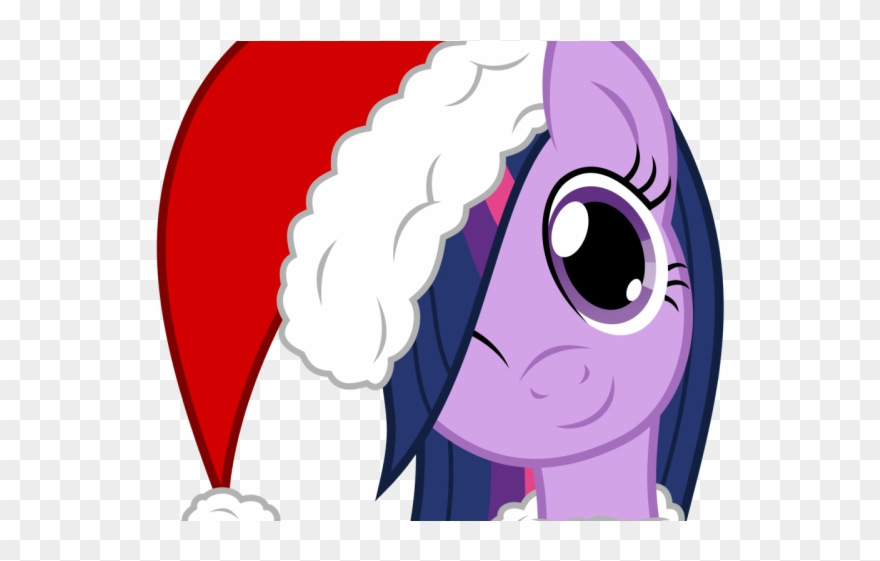 Christmas Hat Cartoon Transparent.Drawn Santa Hat Transparent Background My Little Pony