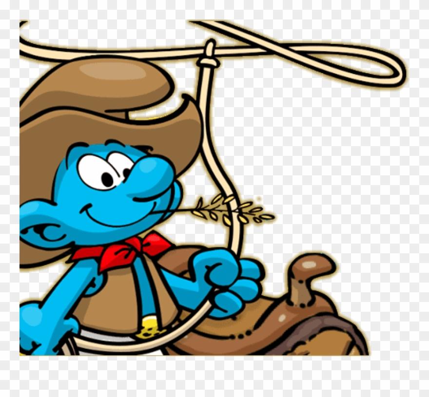 8d7d81dc3f500 Free Png Download Cowboy Smurf Png Images Background - Cowboy Smurf Clipart