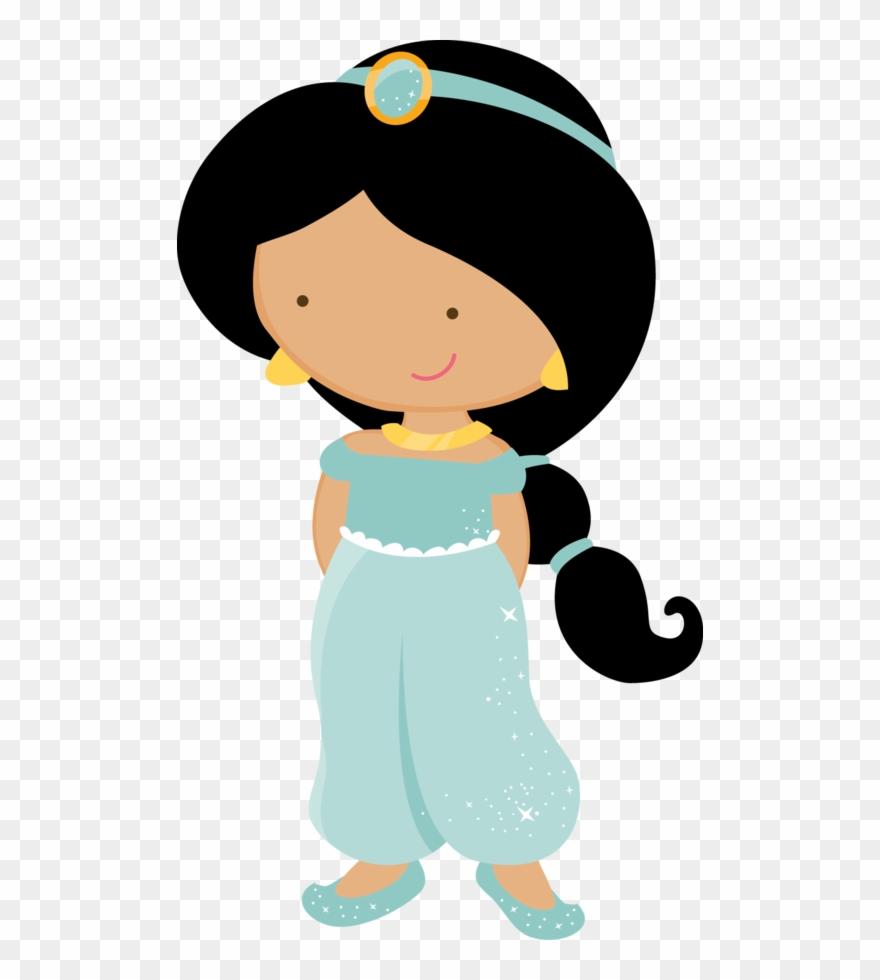 Princess Disney Cutes Ii Princess Jasmine Cute Png Clipart