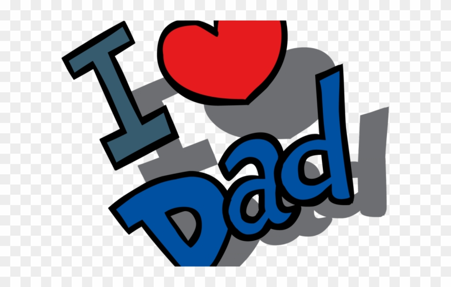 Fathers day clipart crazy tie love you dad clipart png - I love you daddy download ...