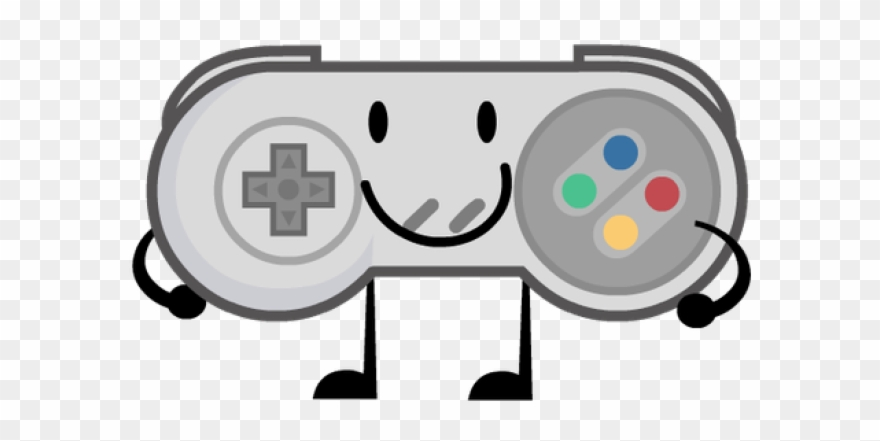 Sandwich Clipart Bfdi - Snes Controller Clip Art - Png Download