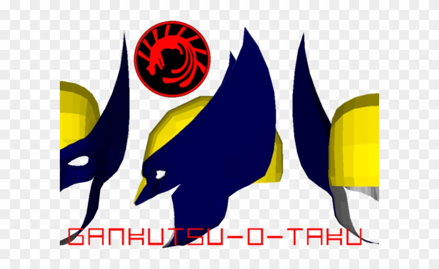 Batman Mask Clipart Wolverine Mask - Pepakura Mask Wolverine