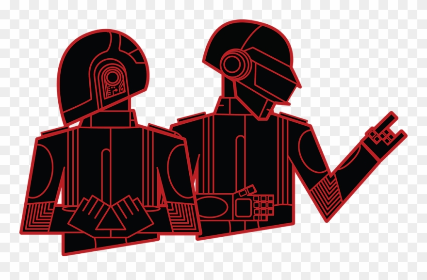 2018 Nubo Graphic Design Daft Punk Playing Cards Clipart