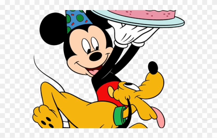 Birthday mickey. Clipart mouse png