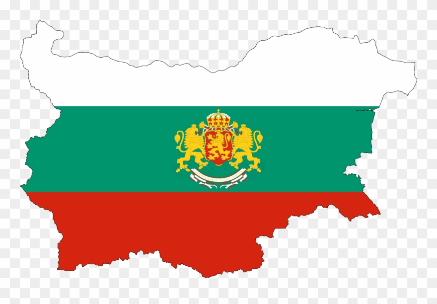 Bulgaria On Map Of World.World Map Bulgarian Language Vector Map Bulgaria Flag Coat Of Arms