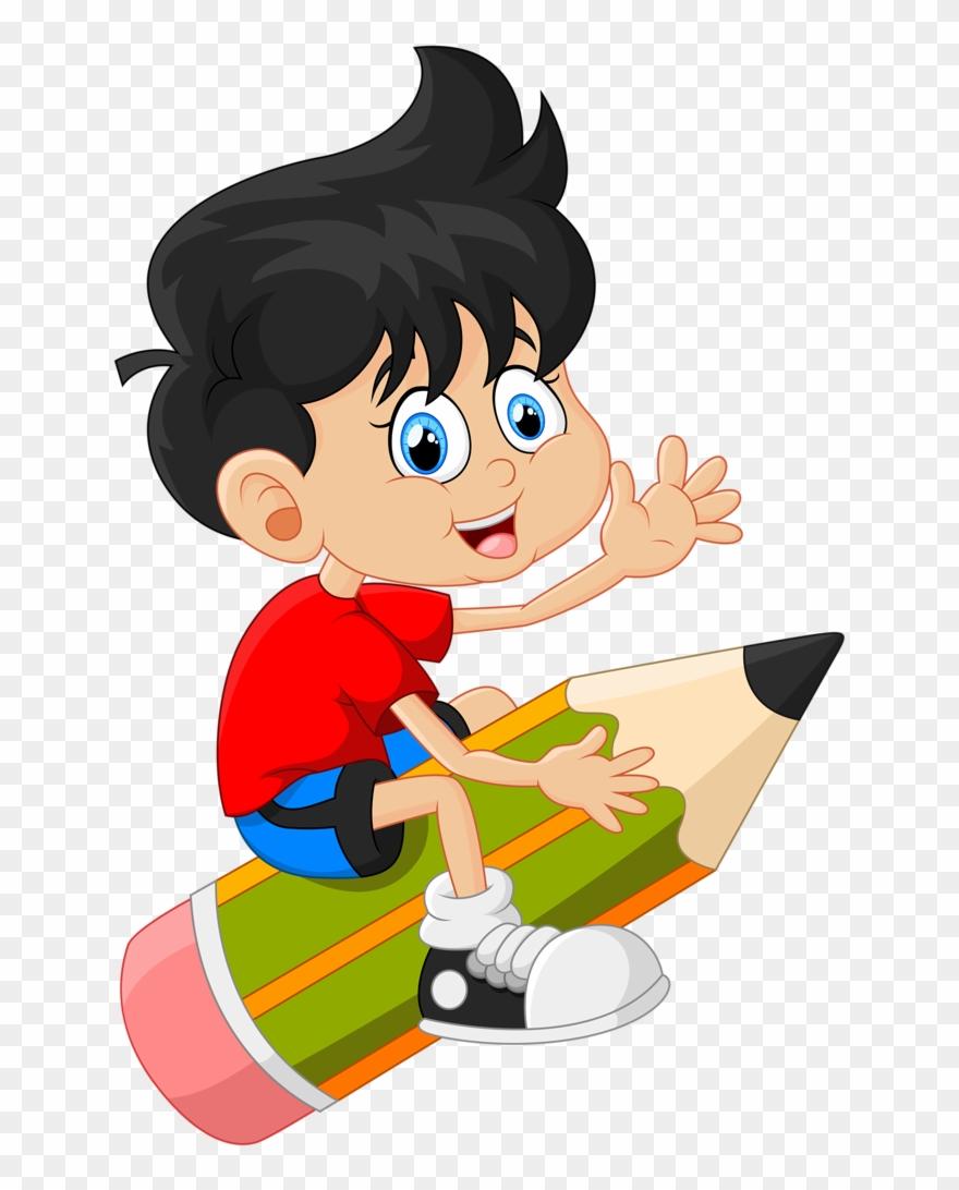 Escola formatura clip art school school clipart boy sitting on pencil hd