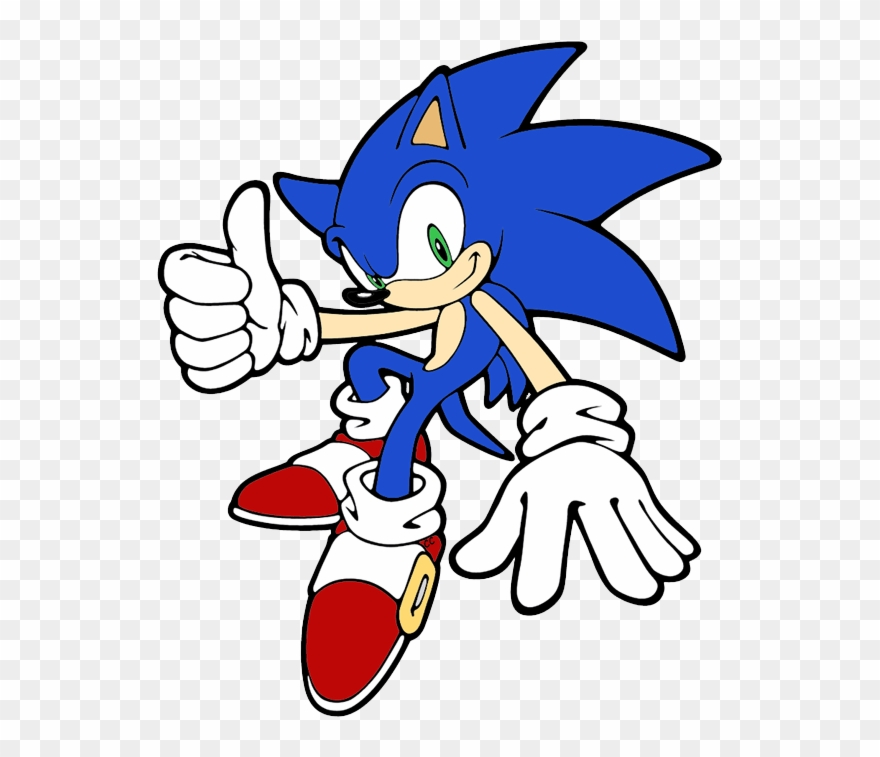 Hedgehog Sonic 2d Sonic The Hedgehog Pose Clipart 334276