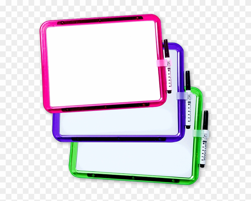 Markers Clipart Mini Whiteboard - Dry Erase Board Png ...