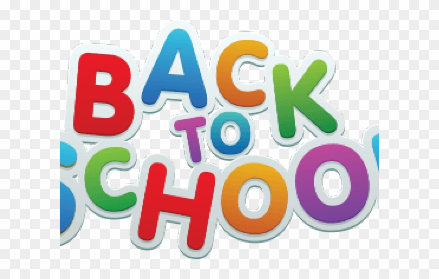 Back to school transparent. Png clipart pinclipart