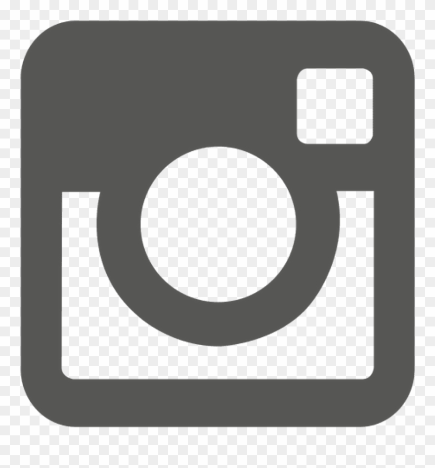 Instagram camera. Logo icon grey freetoedit