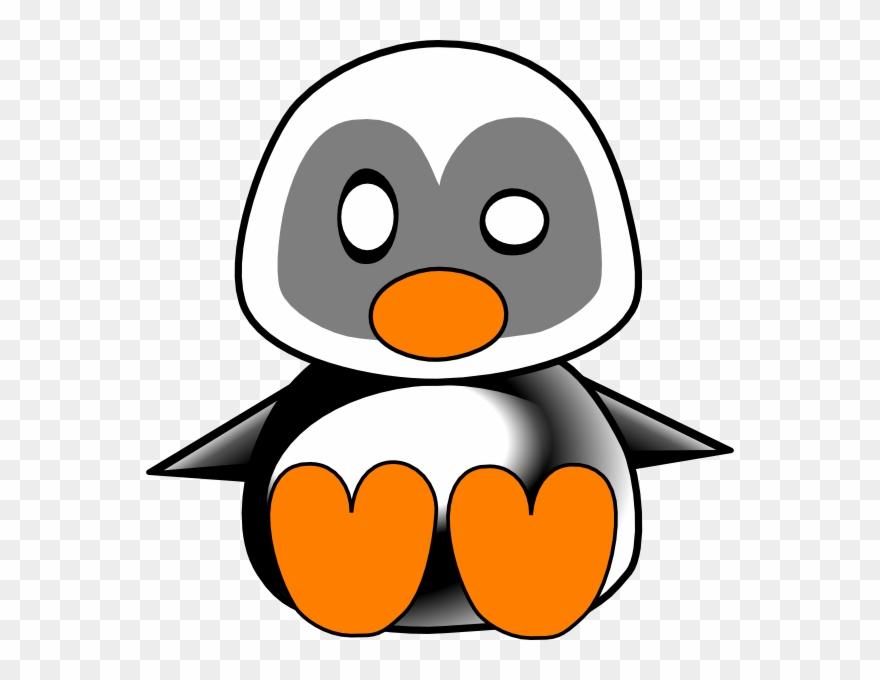 Lliella Png Pinterest Clip - Cute Baby Penguin Clipart, Transparent Png -  kindpng