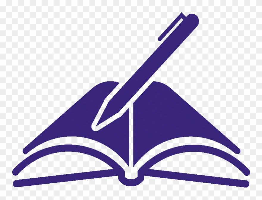 Book logo. Pen clipart open png