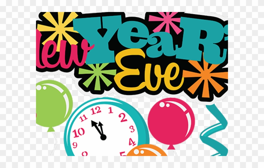 11++ New Years Eve Clipart Png