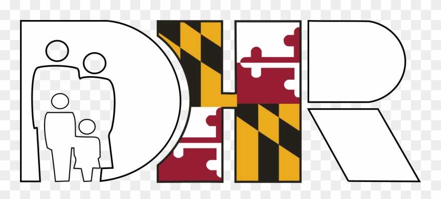 Dhr Logo New Color W - Maryland Colonial Flag Clipart (#3310152