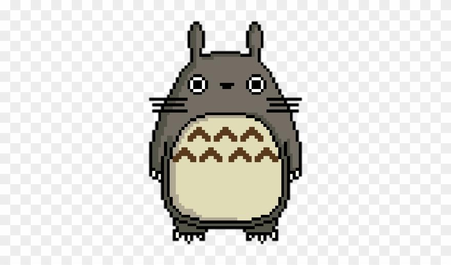 Art Pixel And Totoro Image Studio Ghibli Pixel Art