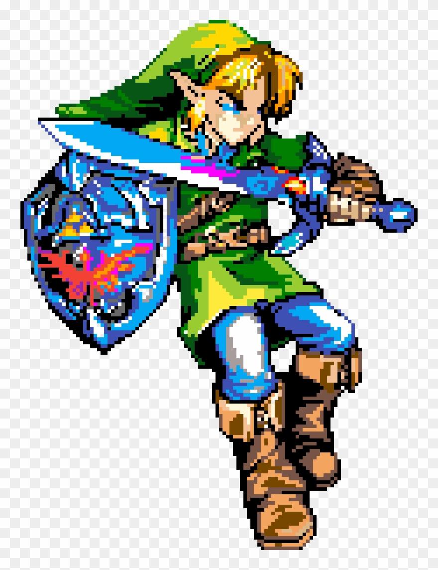 Art Pixel Art Zelda Facile