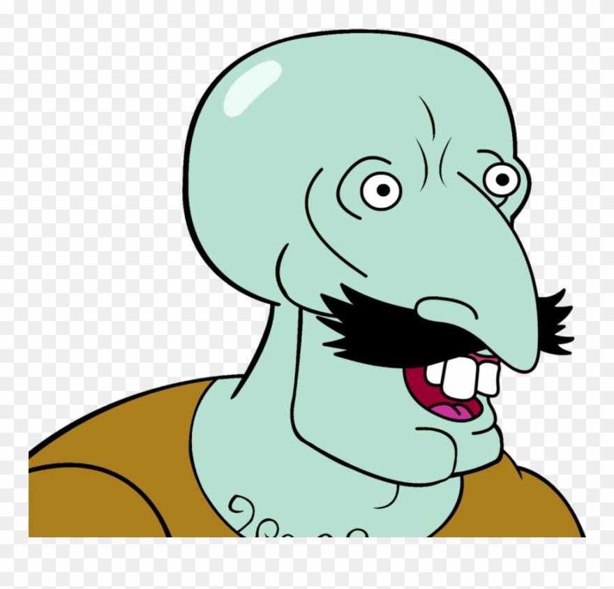 Handsome Squidward Meme Clipart 3324523 Pinclipart