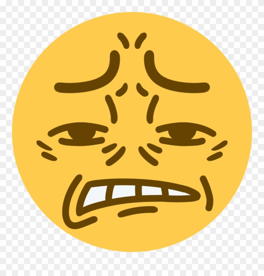Cringe Discord Emoji Clipart
