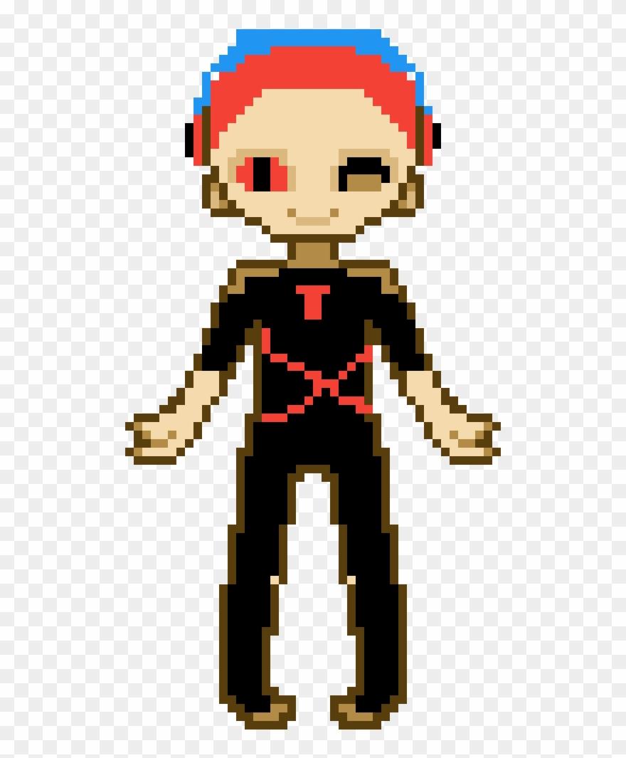 Me By Fortnite Pixel Grid Aphmau Pixel Art Clipart