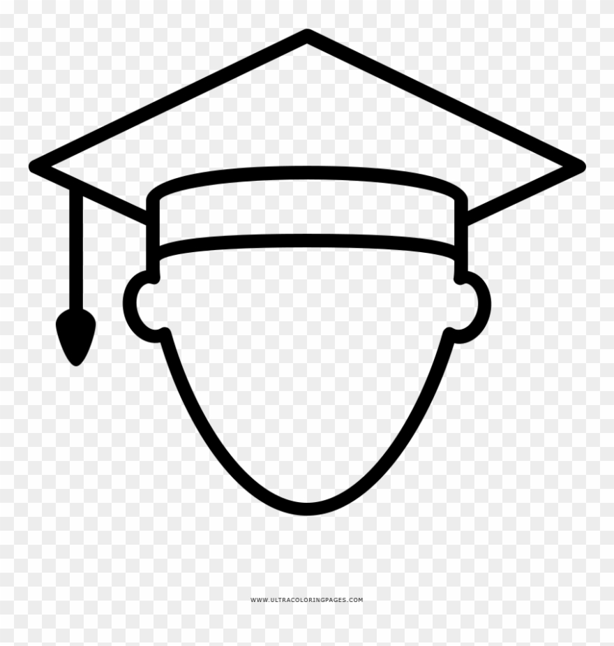 Estudiante Página Para Colorear Line Art Clipart 3353693