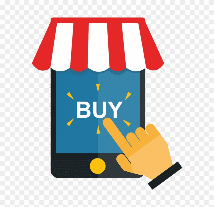 How To Buy A Domain Name - Online Shop Clipart - Png ...
