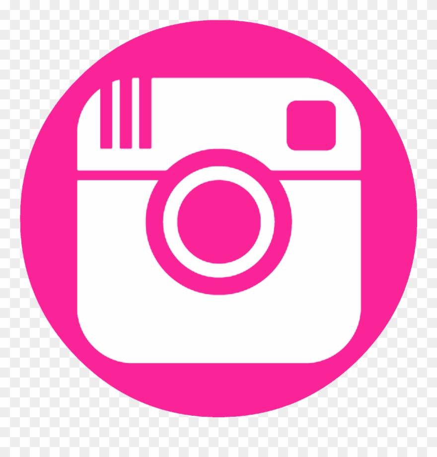 Instagram pink. Facebook twitter pinterest logo