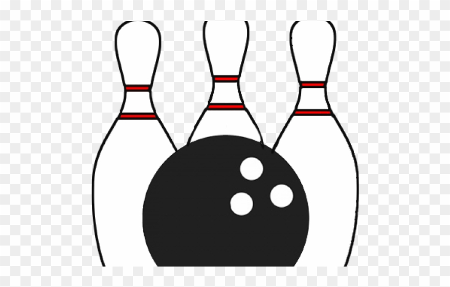 image about Bowling Pin Printable titled Bowling Clipart Printable - Bowlingicon Clear - Png