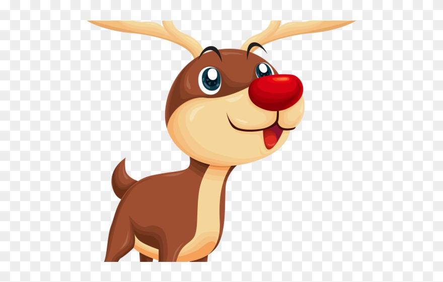 Christmas Reindeer Png.Reindeer Clipart Tail Rudolph Transparent Christmas