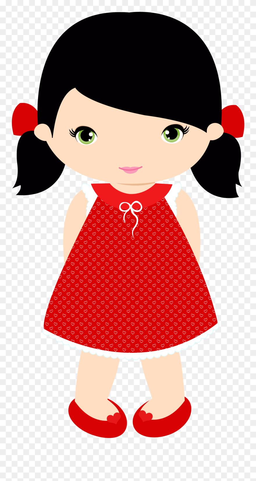 Little Girl Clip Art - Little Girl Clipart - Png Download ...