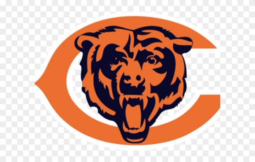 Black Bear Clipart Chicago Bears - Vector Chicago Bears Logo