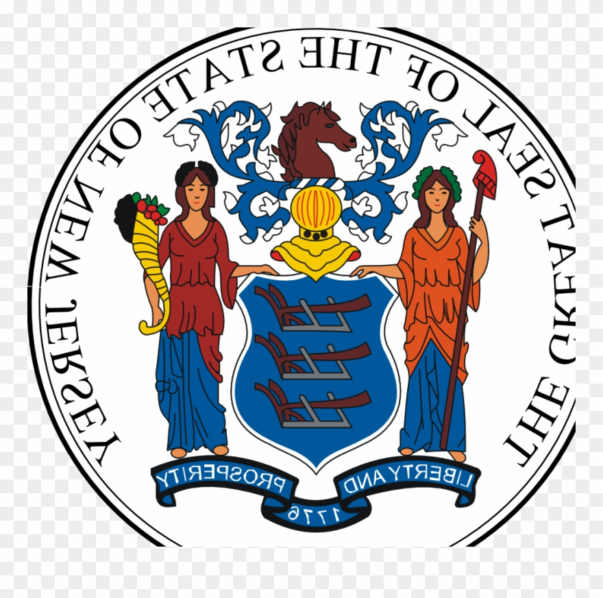 New Jersey State Seal Schools Development Authority Logo Png Clipart 3375836 Pinclipart