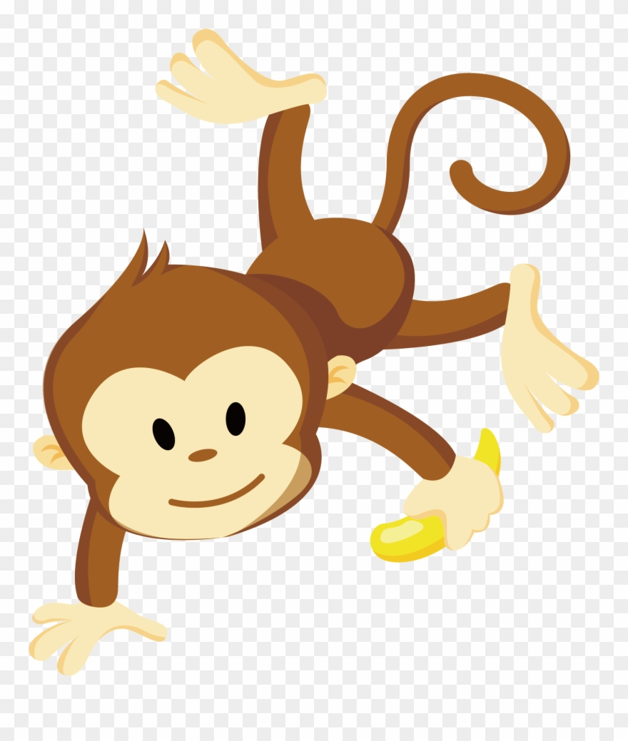 Cheeky monkey. Clip art transparent clipart
