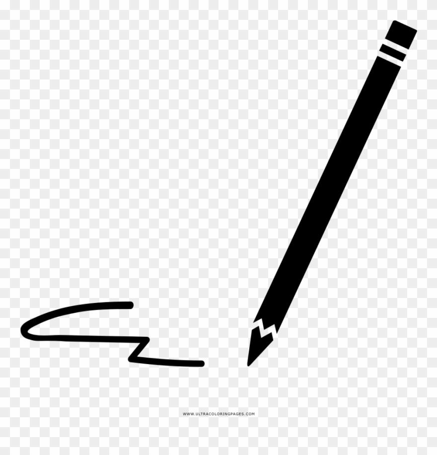 Bleistift Ausmalbilder Clipart (#9) - PinClipart