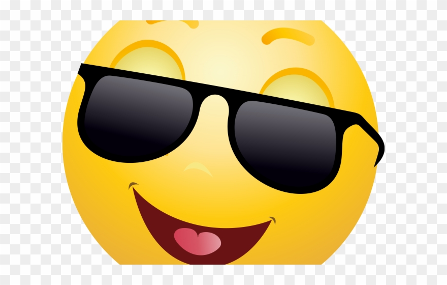 Sunglasses Emoji Clipart Sunshine - Emoji Faces Png