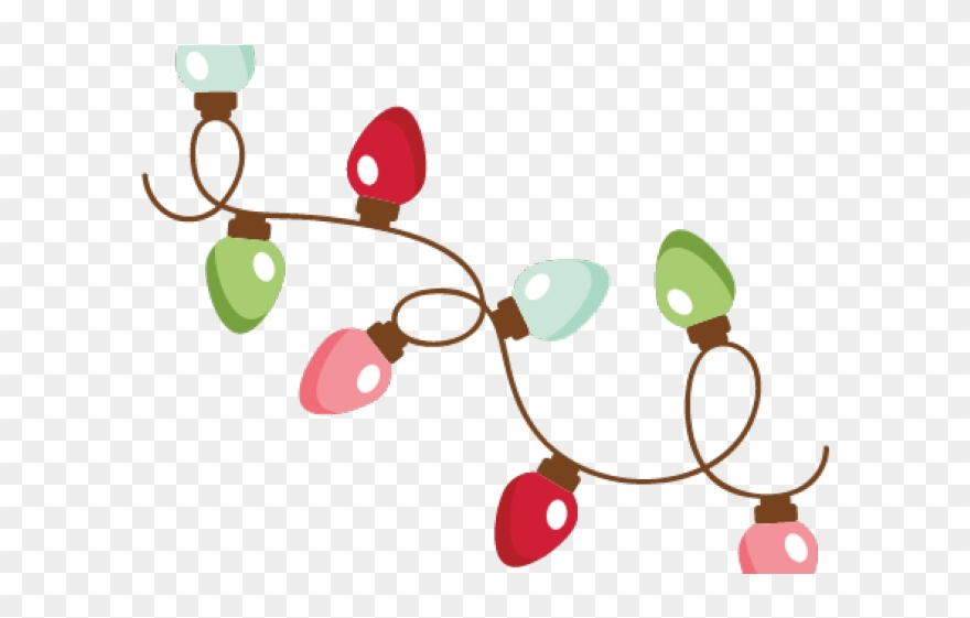 Christmas Lights Clipart.Christmas Lights Clipart Stock Cut Out Christmas Lights